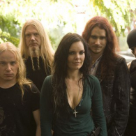 Фотосет Nightwish с Анетт Ользон