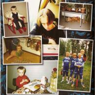 Юкка в детстве и юности