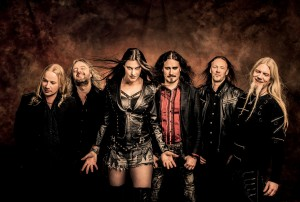 состав Nightwish в 2015 году