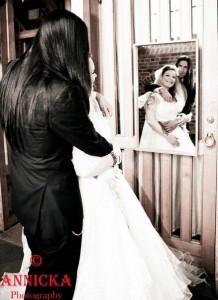 Анетт Ользон с мужем, фото