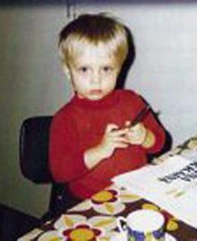 Юкка Невалайнен, фото в детстве