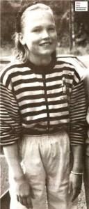 Тарья Турунен в детстве, фото