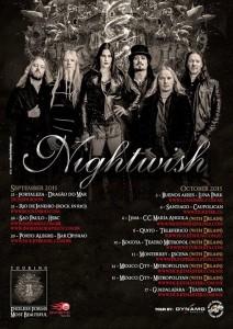 Концерты Nightwish в 2015 году в Латинской Америке