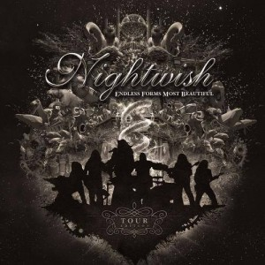 Nightwish Endless Forms Most  Beautiful: Tour Edition, обложка альбома