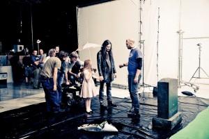 Фото со съемок фильма Воображариум Nightwish, Туомас Холопайнен