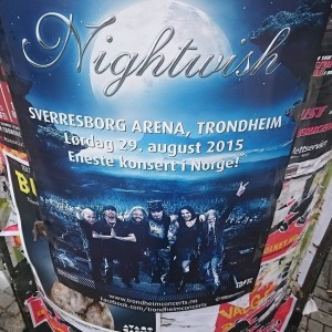 nightwish, афиша концерта, фото