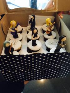 Печенье фигурки Nightwish, фото