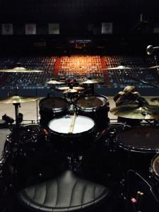 Барабанная установка Кая Хахто Nightwish, фото