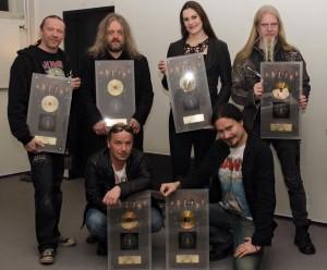 Nightwish с наградами, фото