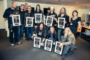 Nightwish, фото со свидетельствами об аншлаге на концерте в Уэмбли