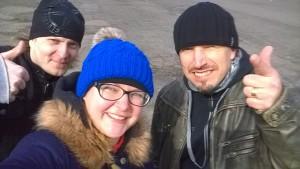 Тони Какко, вокалист Sonata Arctica, фото с поклонниками