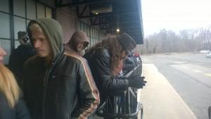 Очередь на концерт Nightwish
