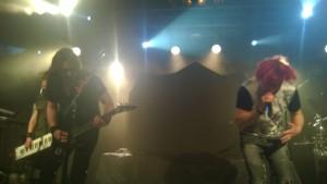 Sonata Arctica, фото из совместного тура с Nightwish