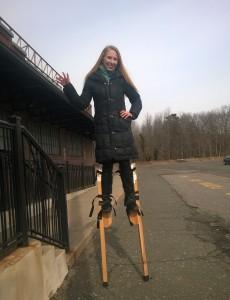 Элис, поклонница Nightwish, цирковой акробат