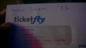 билет на концерт Nightwish