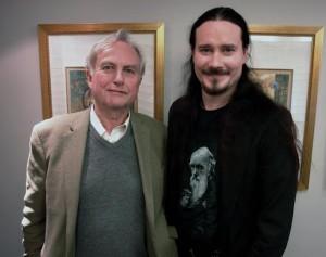 Туомас Холопайнен и Ричард Докинз, фото