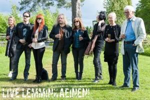 Туомас Холопайнен, Йоханна Куркела, Трой Донокли, Пенти Холопайнен Live Lemminkainen Nightwish, фото