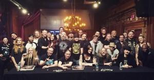 Nightwish, фото после тура 2016