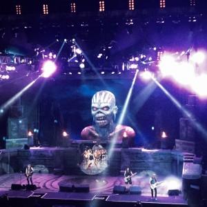 фото с концерта Iron Maiden в Токио 2016 от Кая Хахто
