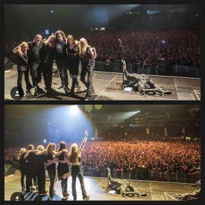 Nightwish, фото после концерта