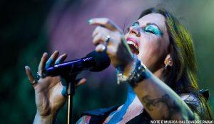 Флор Янсен, фото на концерте Nightwish