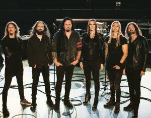 Группа Evergrey и Флор Янсен, фото