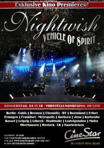Предпремьерный показ концерта Nightwish в Уэмбли