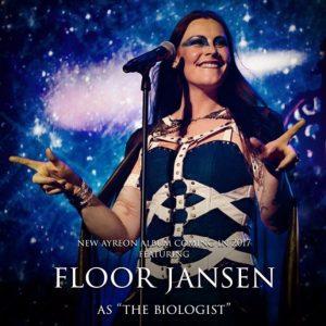 Флор Янсен примет участие в записи нового альбома Ayreon